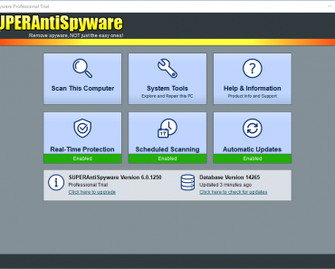 SUPERAntiSpyware 6