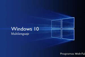 Windows 10 Pro espanol