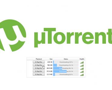 uTorrent cliente de torrents