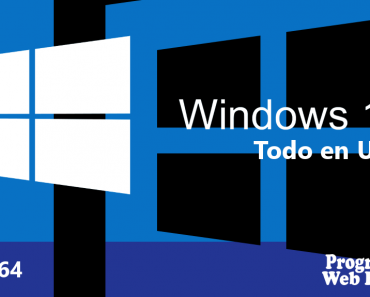 Windows 10 AIO Todo en Uno