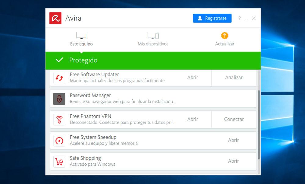 Avira Free Security Suite 2018