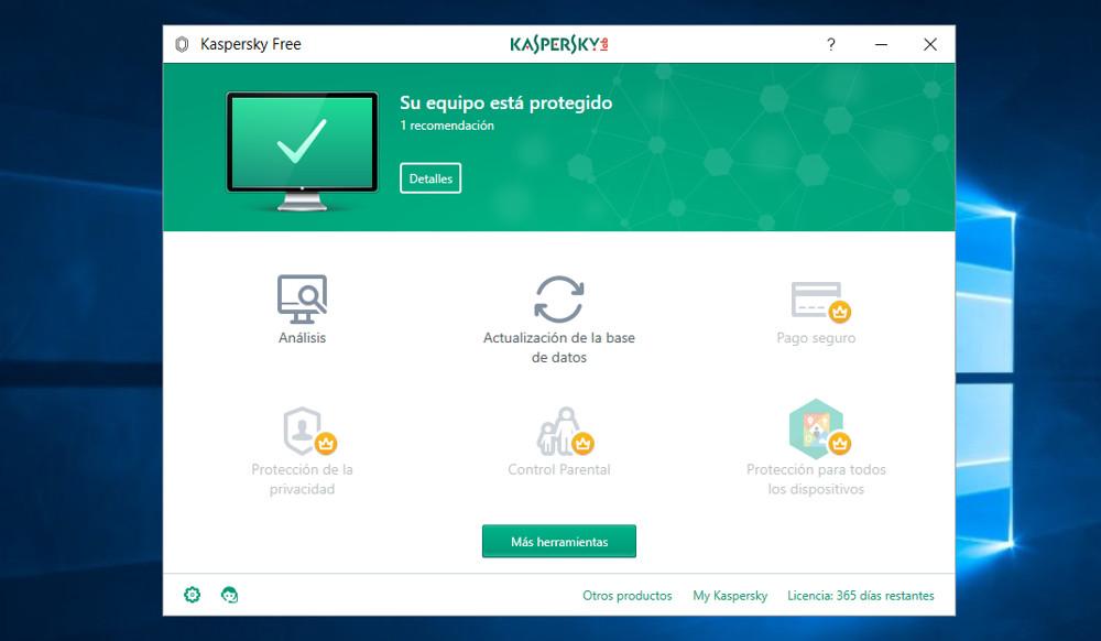 Kaspersky Free AntiVirus 2018