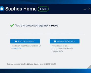Sophos Home Antivirus Español