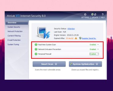 Antivirus AhnLab V3 Internet Security