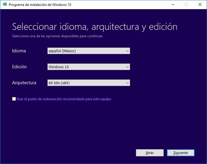 Descargar Windows 10 gratis