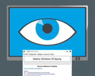 Destroy Windows 10 Spying DWS