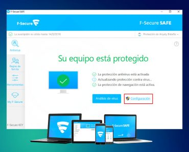 F-Secure SAFE Antivirus