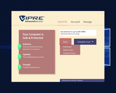 Antivirus VIPRE Advanced Security