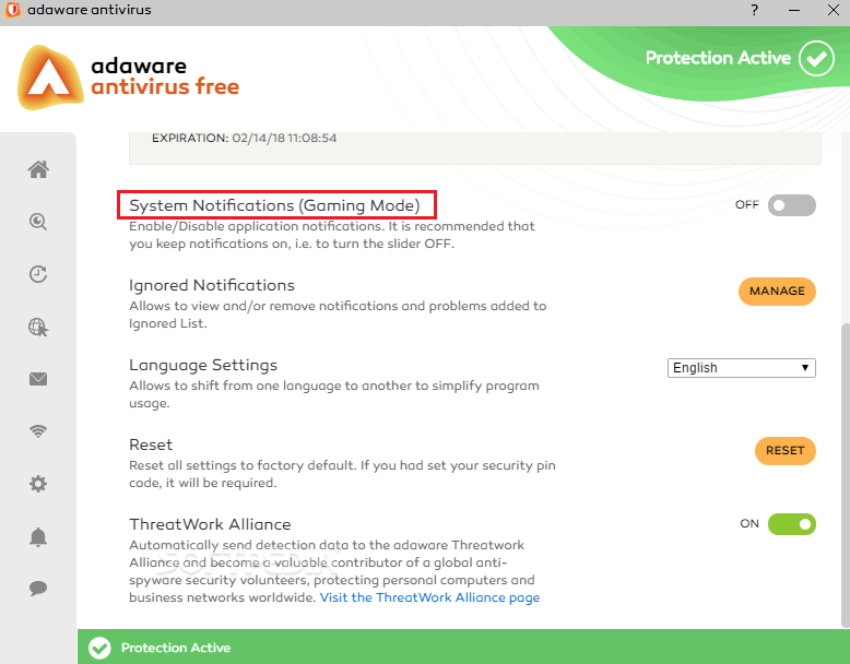 Adaware Free 2018