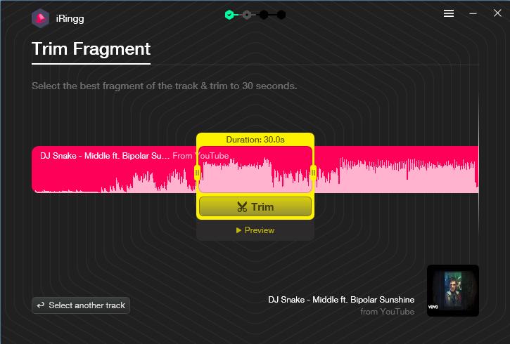 recortar audio iRingg